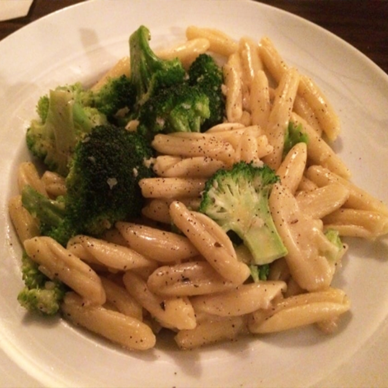 Nellie's Place - brocolli & cavatelli
