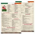 menu - top